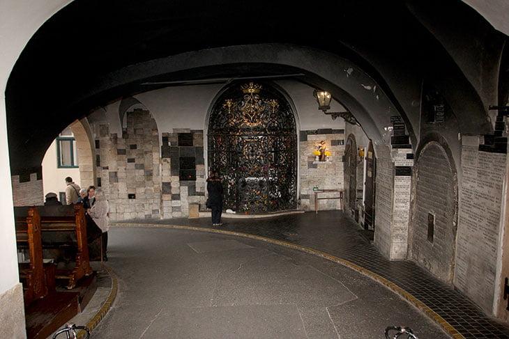 Stone gate - Zagreb Croatia