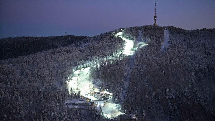 Ski Resort Sljeme - Zagreb Croatia