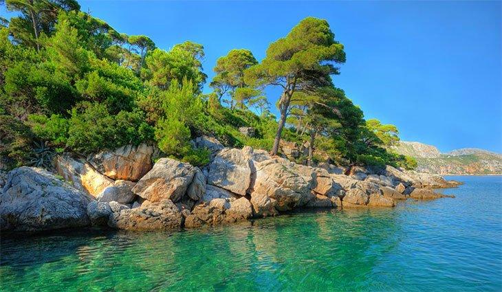 Lokrum island - Dubrovnik Archipelago
