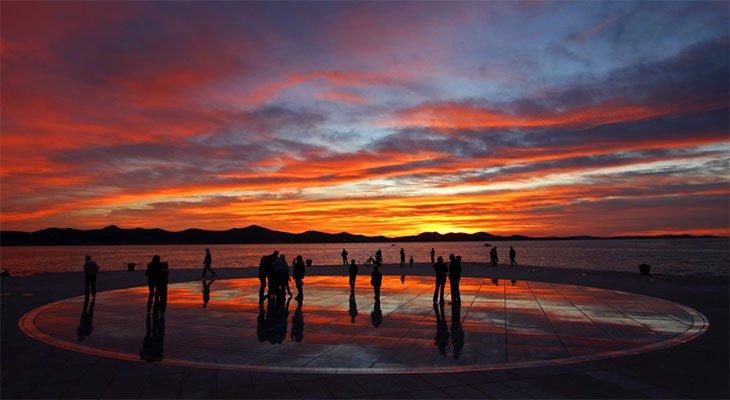Greetings To The Sun - Zadar Croatia