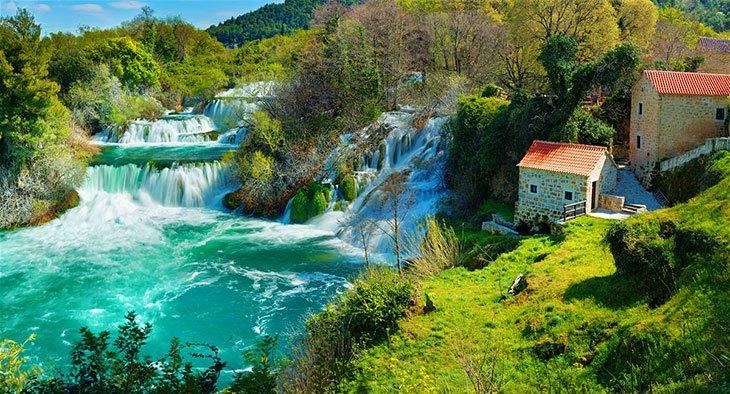 Krka Waterfalls National Park - Zadar Croatia