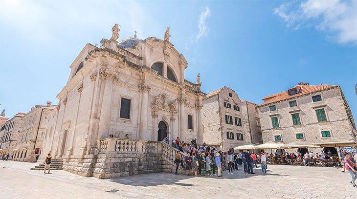 St. Blaise Church - Dubrovnik Croatia