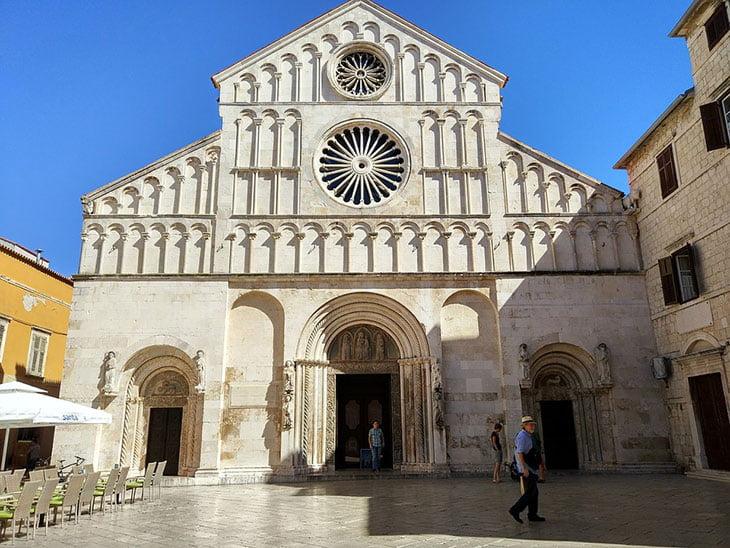 Cathedral in Zadar Croatia