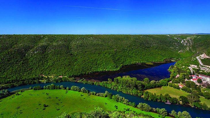 Baeutiful Nature of Krka river