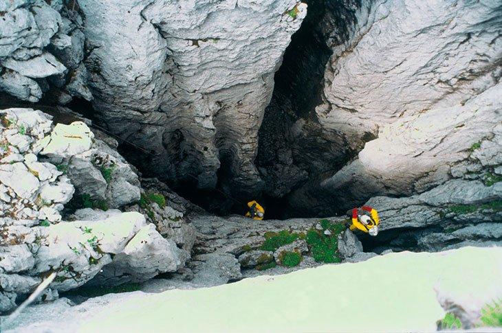 Lukina Jama Cave Velebit