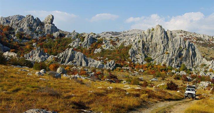 Offroad Trails in Paklenica Croatia