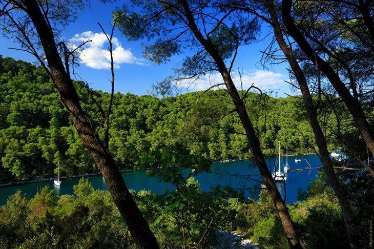 Polace Bay Croatia Mljet