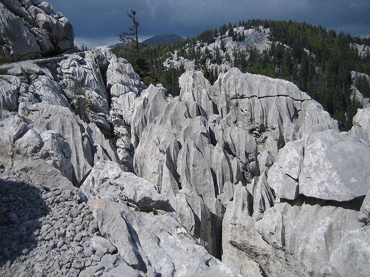 Rožanski Kukovi Peak