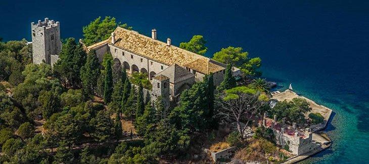 St Mary Islet Mljet Croatia