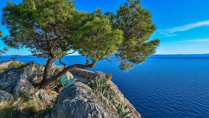 Makarska Riviera promenade