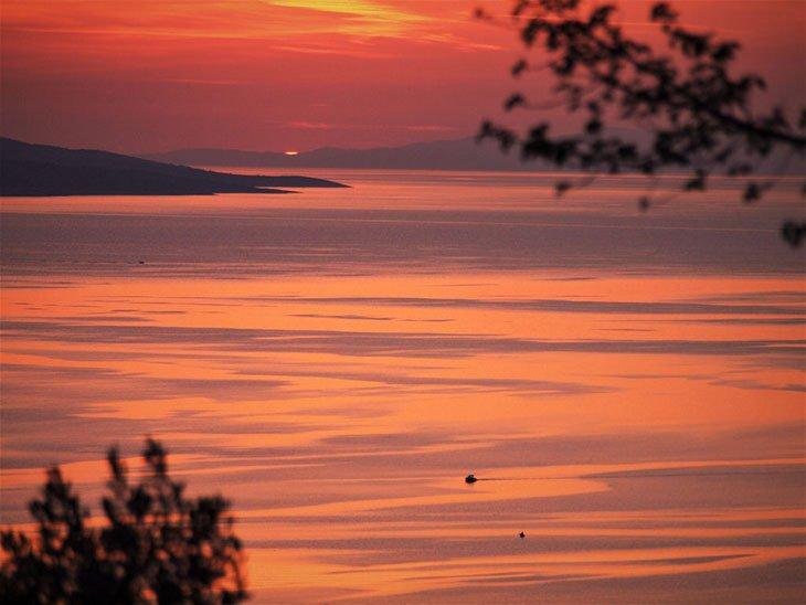 Makarska Riviera Sunset