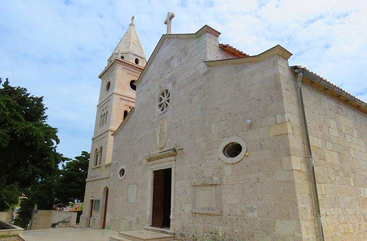 St George church - Primosten
