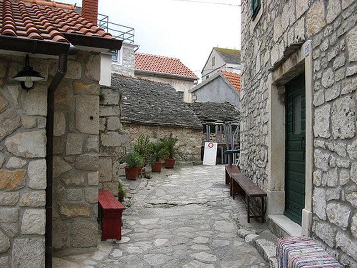 Primosten Croatia Street