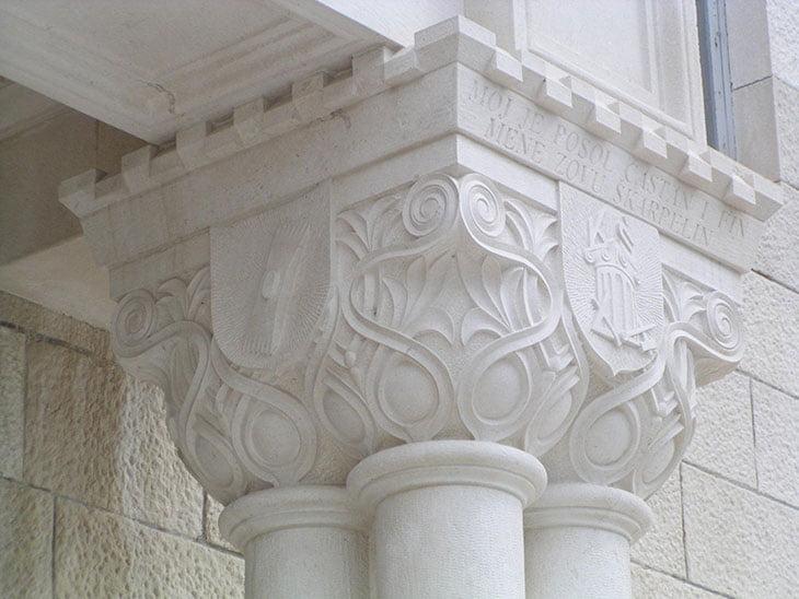 Stonemasonary school in Pučišca Brač island