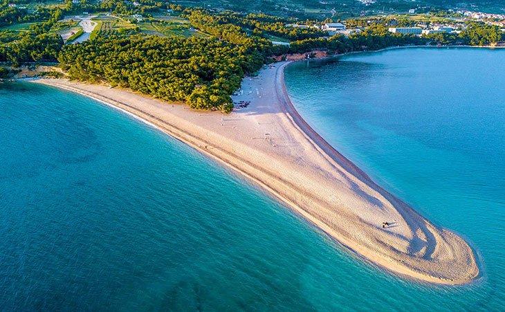 Zlatni Rat - Golden Horn beach - Brač Island