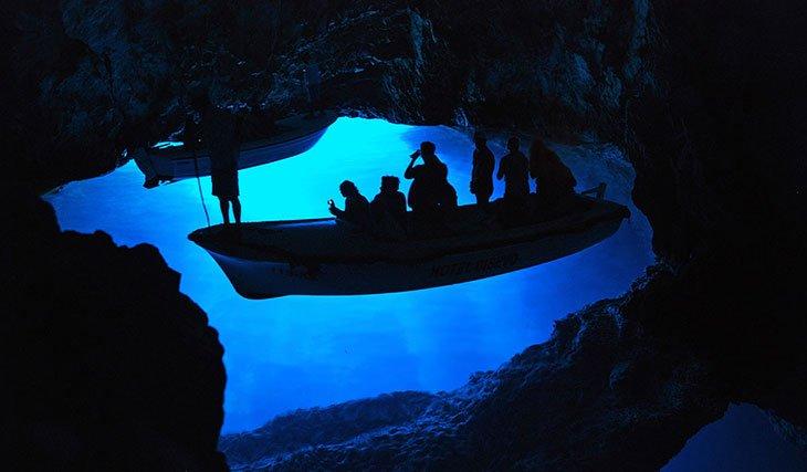 Blue Grotto - Vis Island