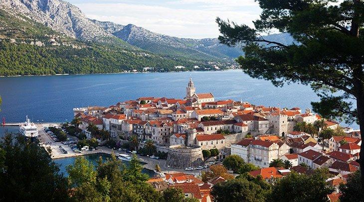 Korcula Croatia itinerary
