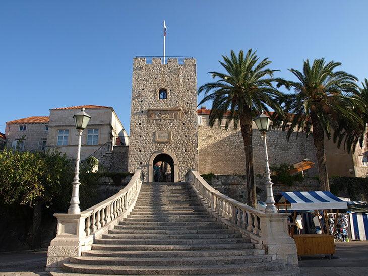 Land Gate - Korcula Town