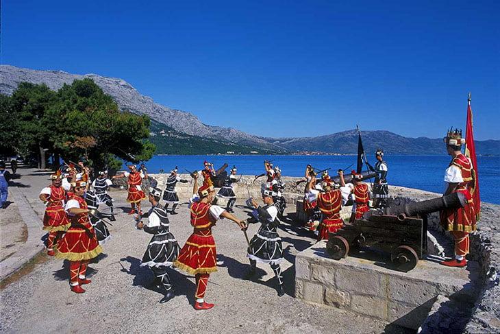 Sword Dance - Moreska Korcula Island