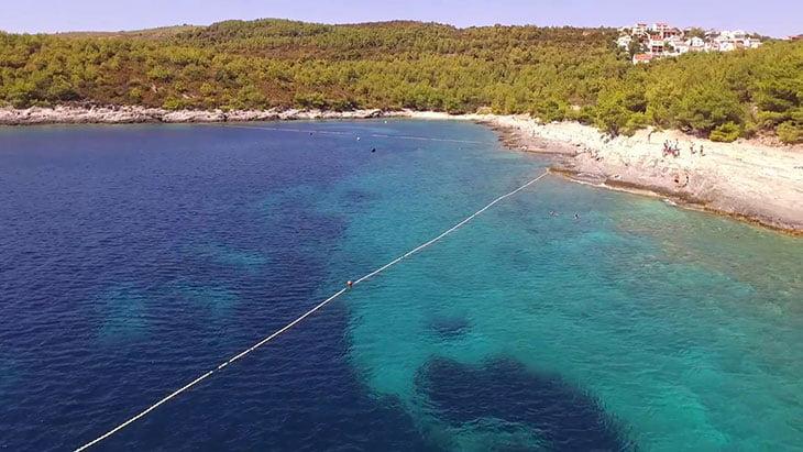 Srebrena Beach Vis Island