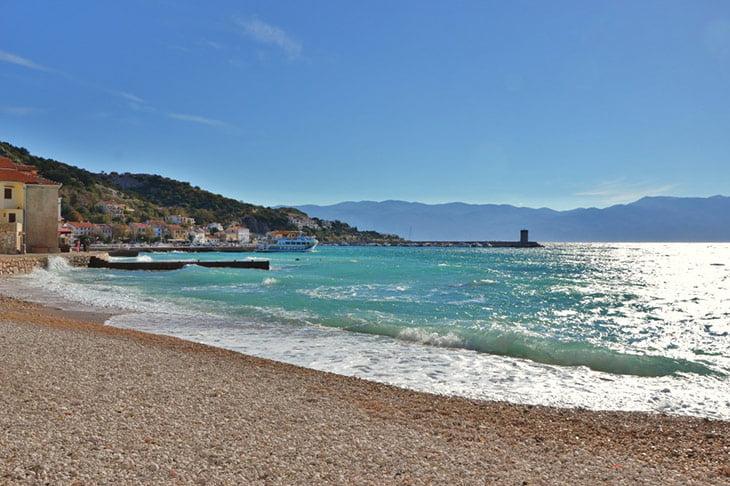 Krk Island Baska Town