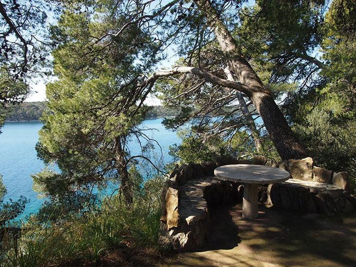 Komrcar Park Garden - Rab island