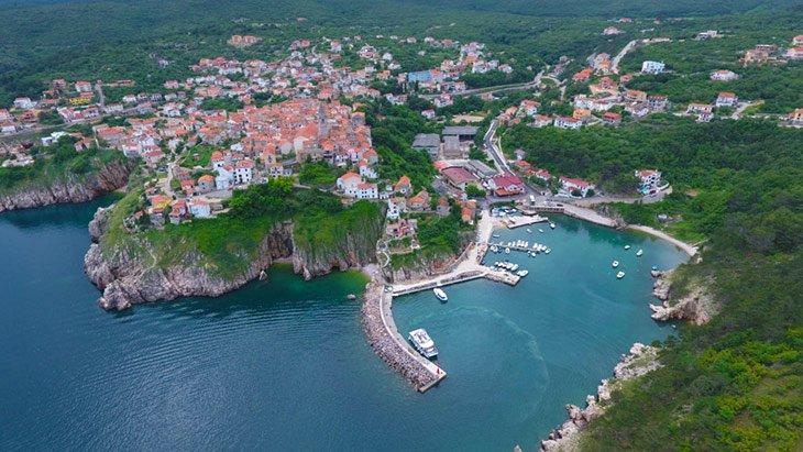 Krk Town Croatia