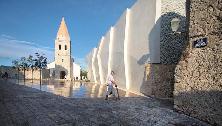 Old town Krk Island Croatia