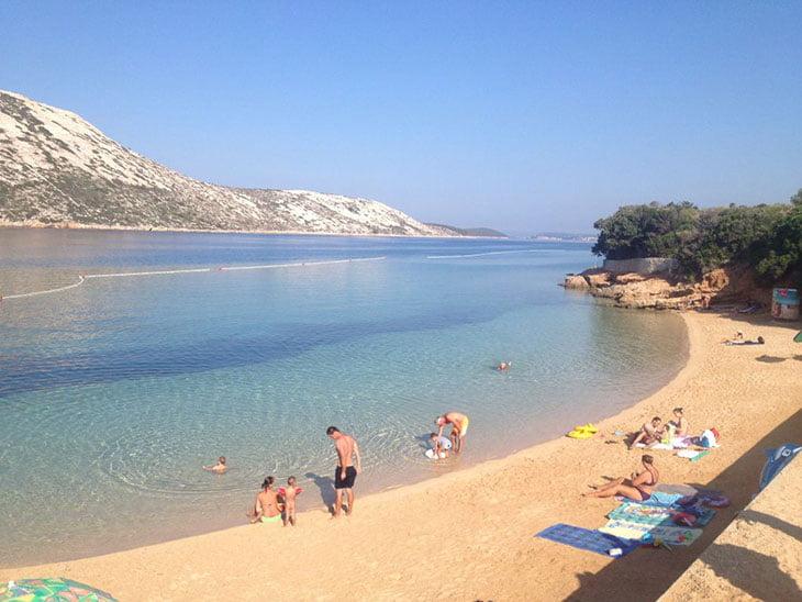 Pudarica Beach - Rab island
