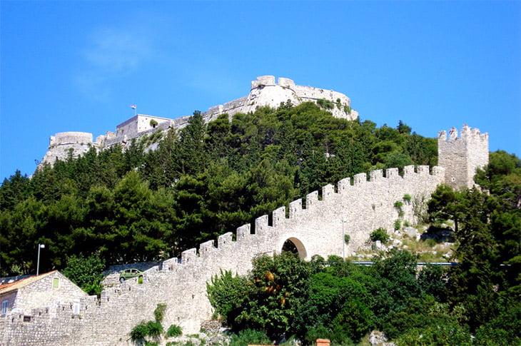 Spanjola Fortress Hvar Island
