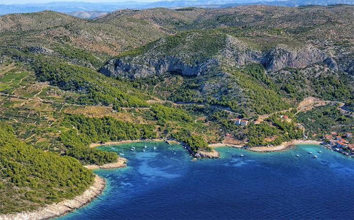 Milna Hvar Island