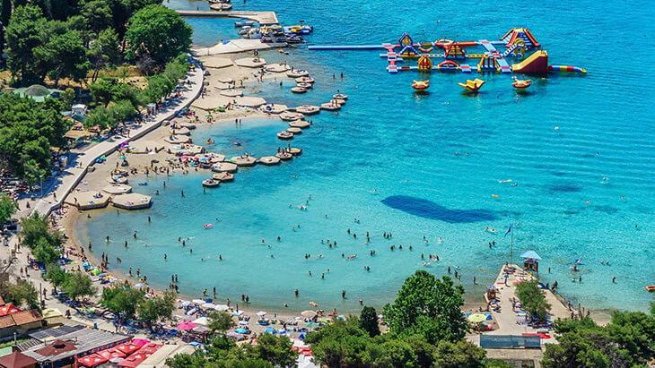 Plava or Blue beach