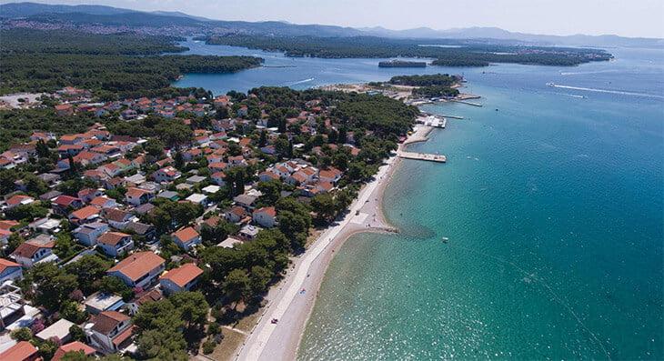 Jadrija beach