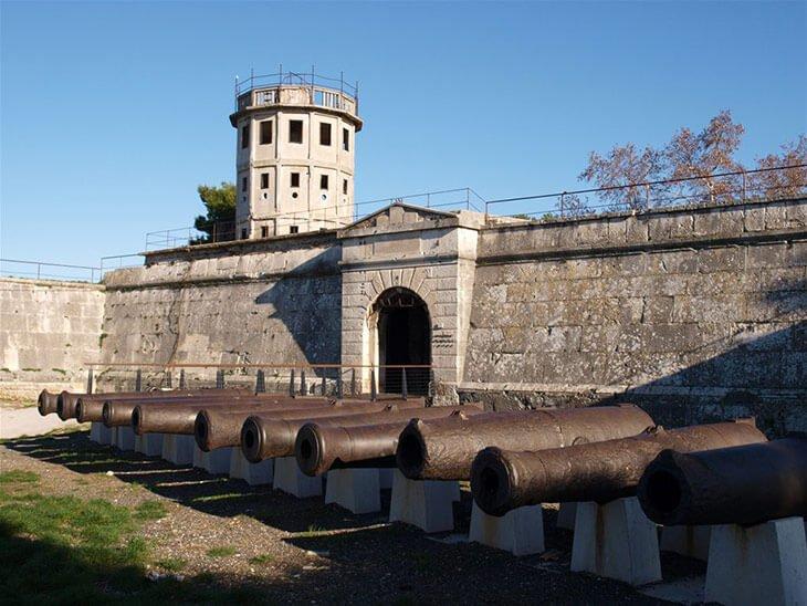 Historical maritme museum Pula