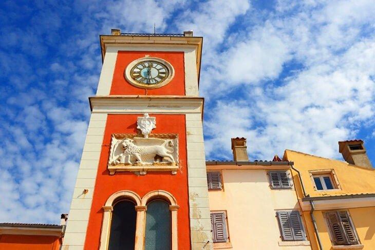 Rovinj Town Clock