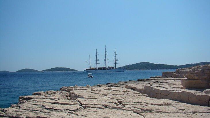 Tijat island Croatia