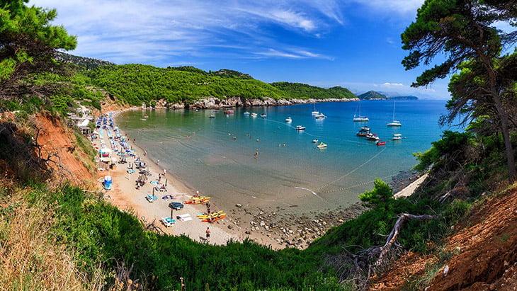 Šunj beach Dubrovnik
